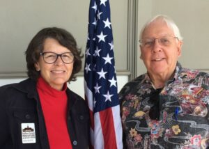 Celeste Dennerline and President George