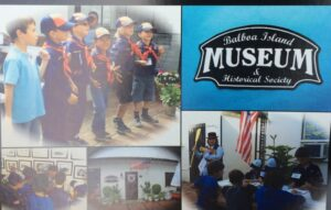 Scouts Visiting the Museum