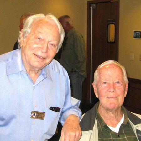 Mike Gertner and Pas President Wally Ziglar